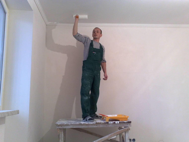 Повторная покраска стен водоэмульсионной краской своими руками