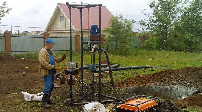 Как пробурить скважину своими руками на 10 метров