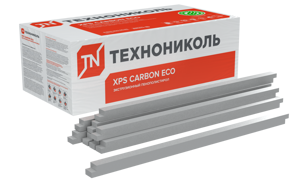 БРУСКИ XPS CARBON ECO - ТЕХНОНИКОЛЬ